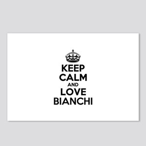 Keep Calm and Love BIANCH Postcards (Package of 8)